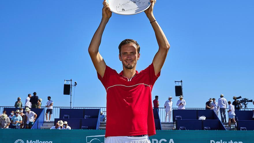 Medvedev conquista el Mallorca Championships