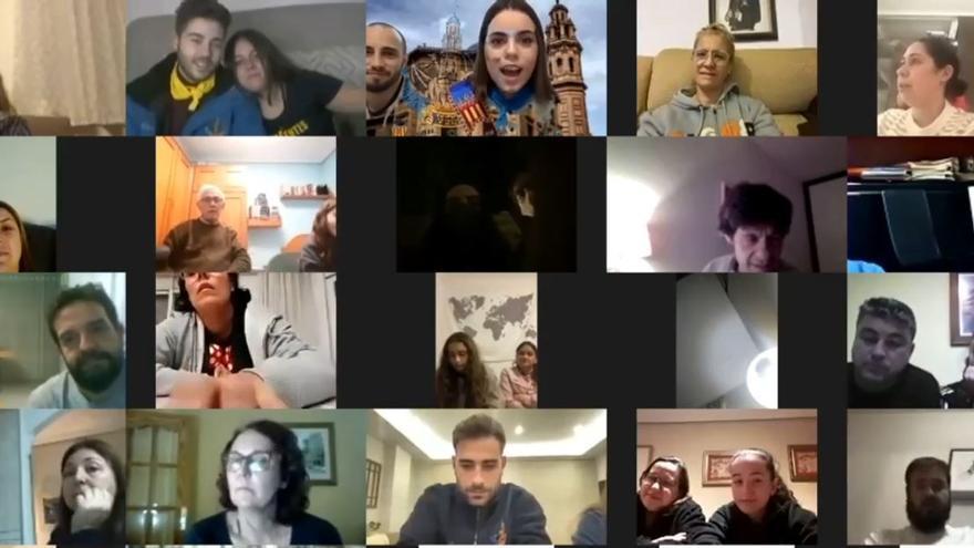 La emoción de la Crida Virtual de la falla Mercat de Russafa