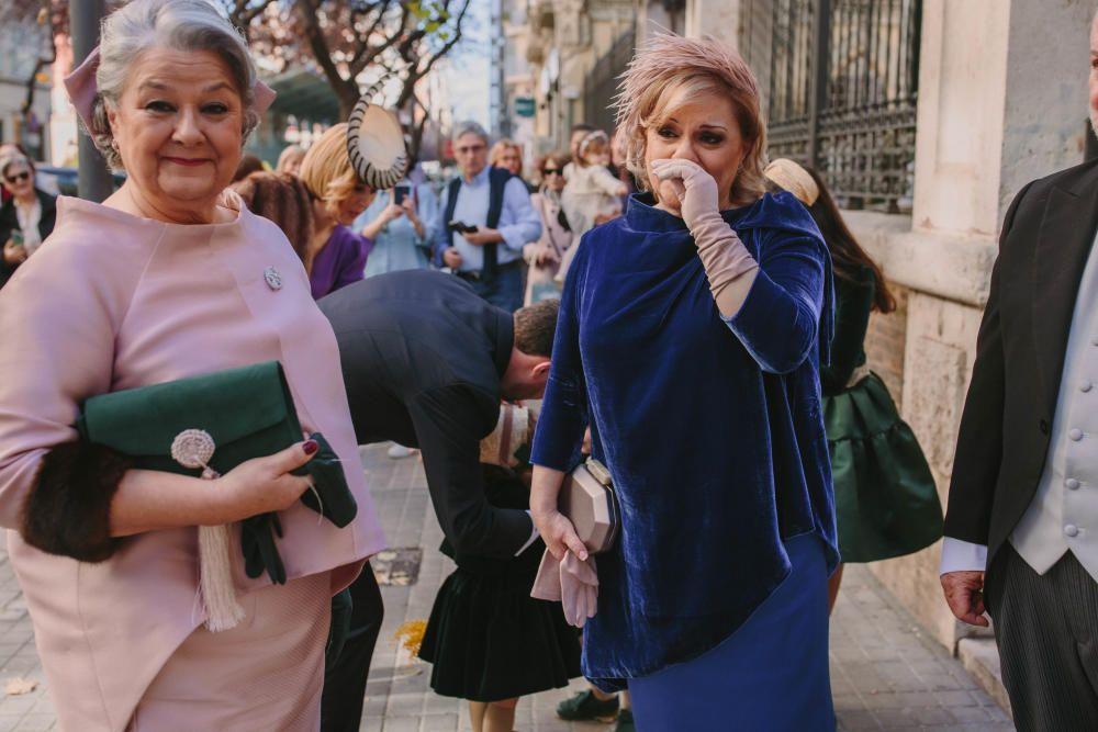 Boda de Isabel Conejero, corte de honor 2008
