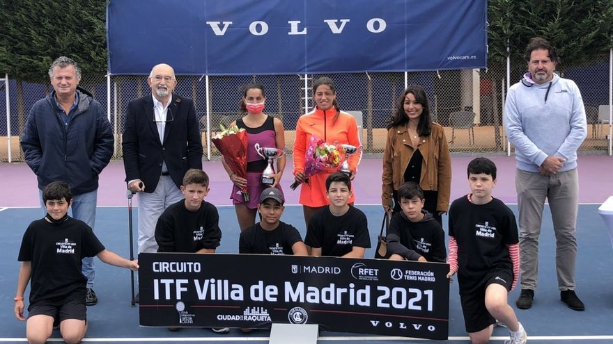Jéssica Bouzas pierde la final en Madrid ante la francesa Hesse