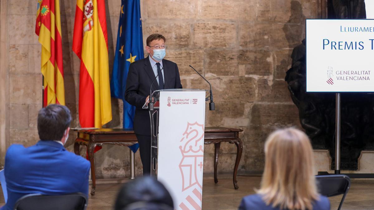 El presidente Puig anuncia un plan dotado con 196 millones para recuperar el turismo
