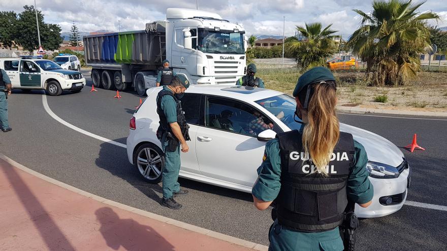 La Guardia Civil continúa con los dispositivos de cumplimiento de la normativa Covid