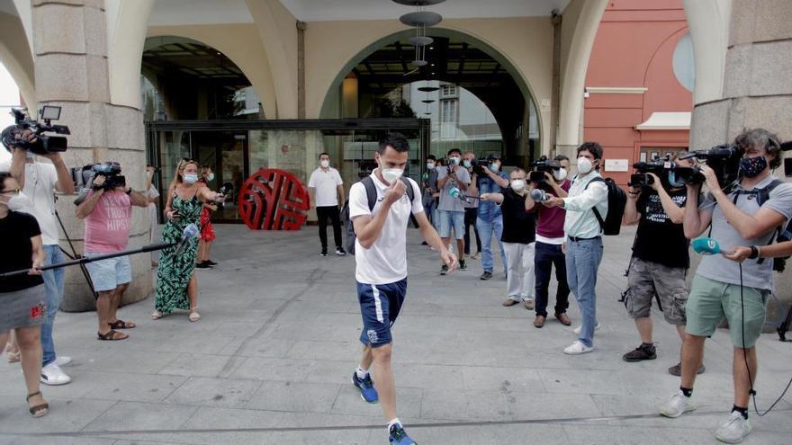 La Xunta envía al juzgado un informe del viaje del Fuenlabrada