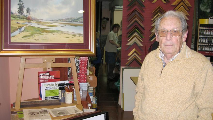 Fallece el pintor Humberto Alonso, el pintor de la ría de Villaviciosa