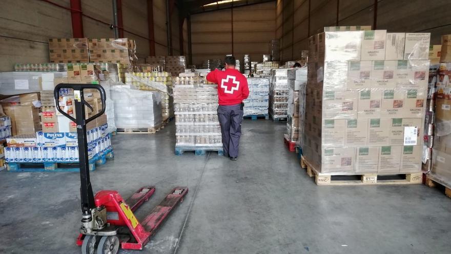 Cruz Roja distribuirá en Baleares 348.000 kilos de alimentos a personas vulnerables