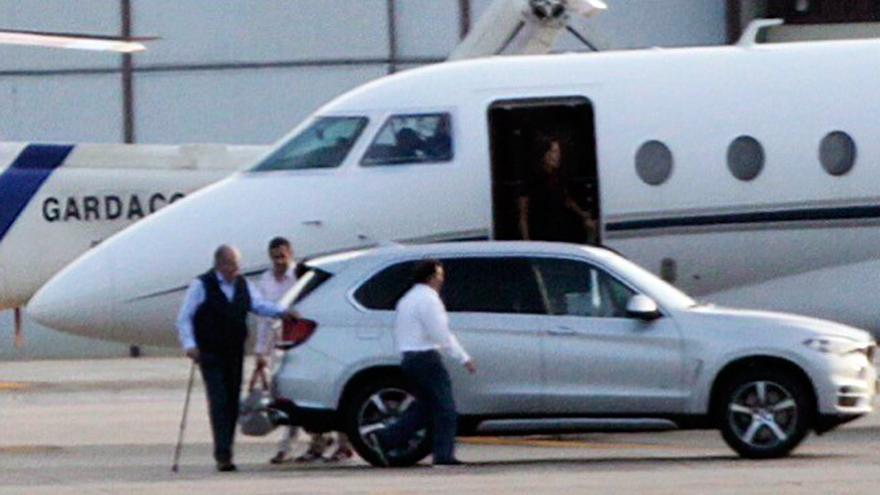 Un vuelo de Galicia a Canadá, entre los viajes de placer por los que Juan Carlos I pagó 8 millones