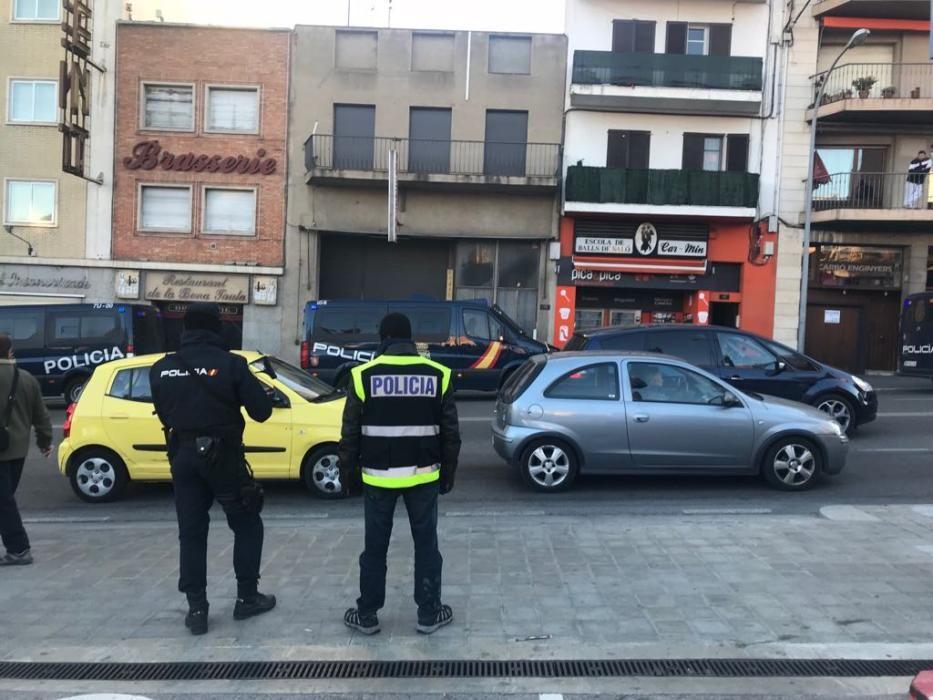 Operació contra Daesh a Figueres.