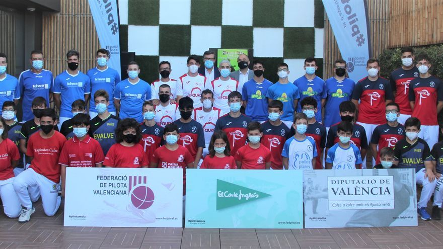 Presentació 46 edició del Campionat Autonòmic de Galotxa, trofeu El Corte Inglés