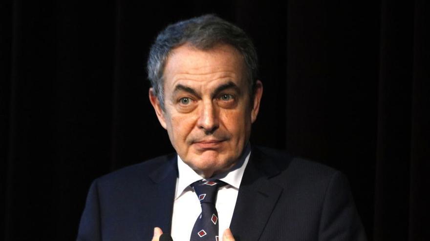 Zapatero: «Quan vaig dir 'donaré suport a l'Estatut' podria haver afegit 'i eliminaré tot el que sigui inconstitucional'»