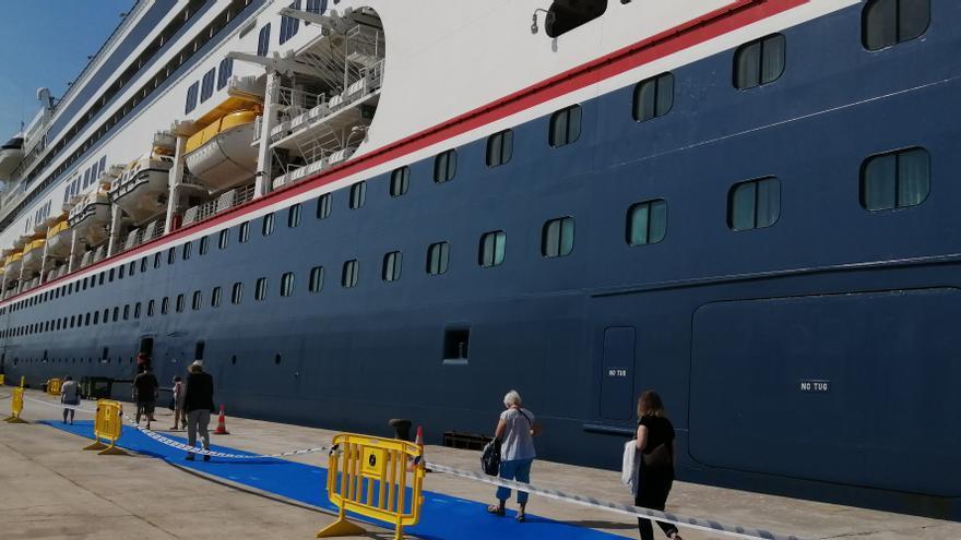 PortCastelló recibe su primer crucero desde el inicio de la pandemia