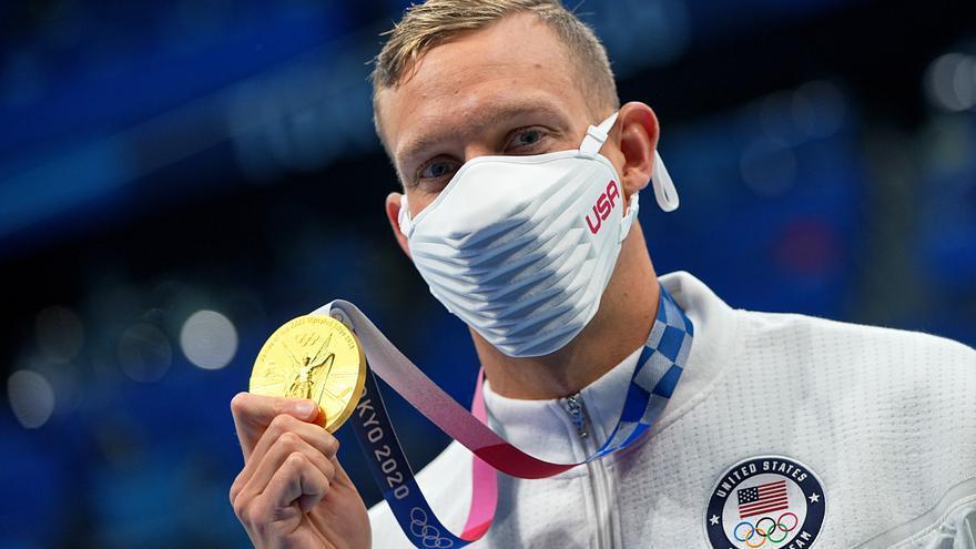 El nadador Dressel, otro paso más cerca de los seis oros