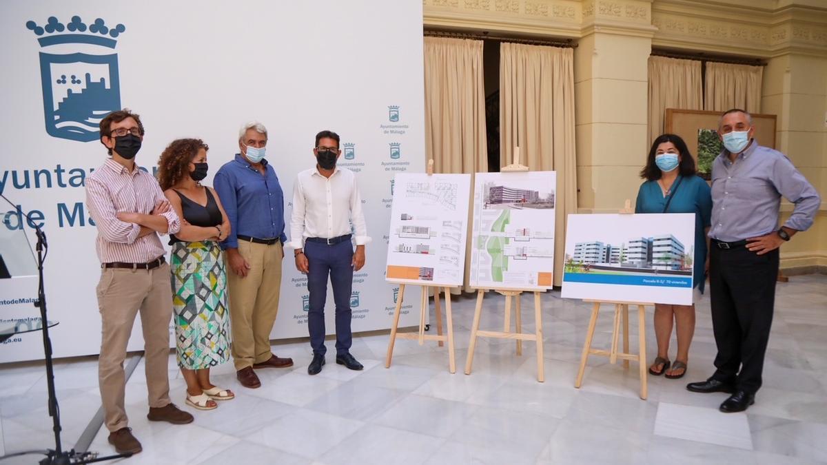 Rueda de prensa de presentación de las promociones de viviendas de alquiler