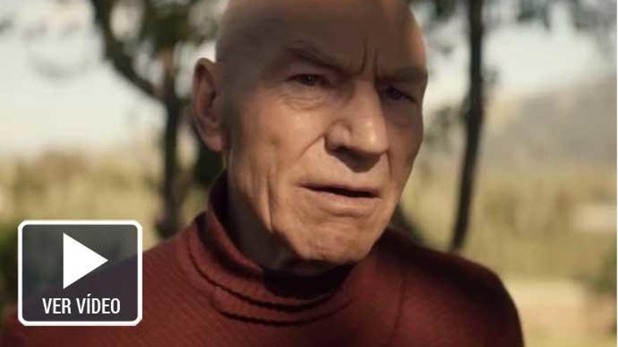 Primer tráiler de 'Picard', la nueva serie de 'Star Trek'
