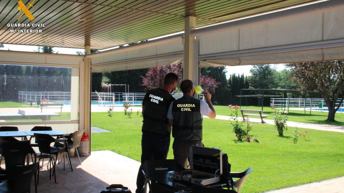 La Guardia Civil detiene a dos personas por un robo en Biota en julio de 2020