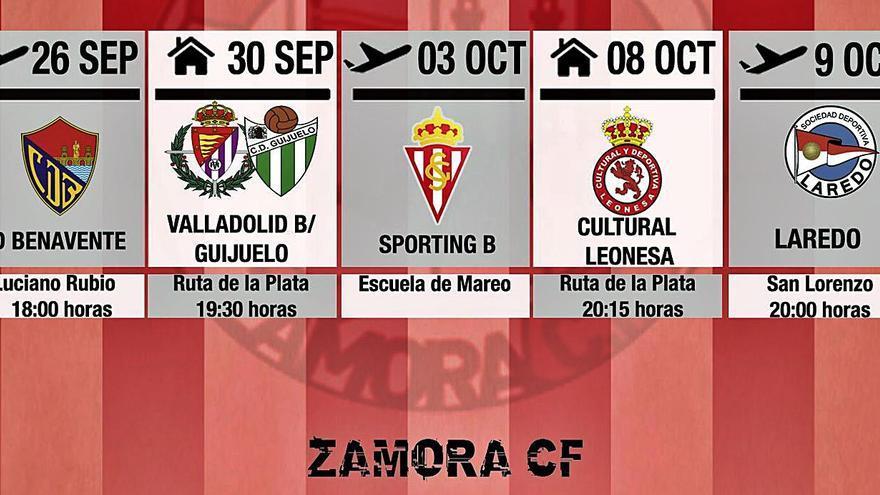 El Zamora CF también se probará en Laredo