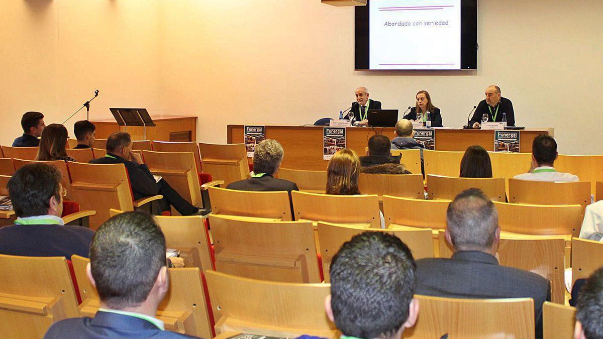 Presentación del I Congreso Internacional de Directivos Funerarios en Expourense.