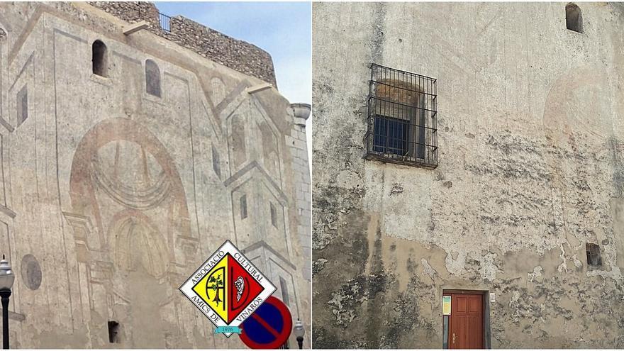 Desaparecen los esgrafiados de la Arciprestal de Vinaròs