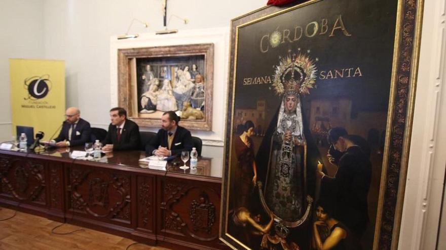 La Virgen de las Tristezas preside el cartel de la Semana Santa de Córdoba 2020
