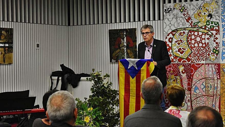 L'alcalde de Solsona s'acomiada de la població en el seu últim acte públic
