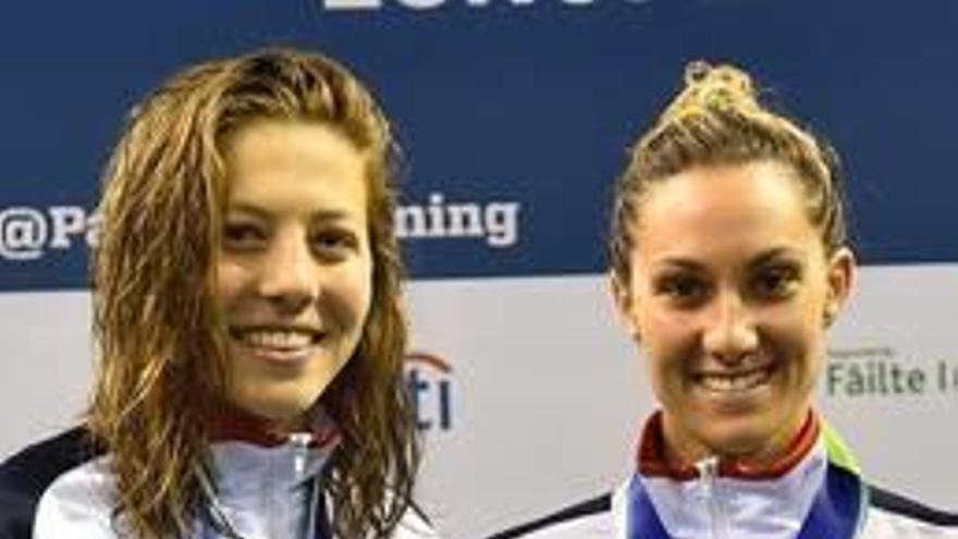 La competidora amb més podis  del campionat i la segona espanyola del medaller