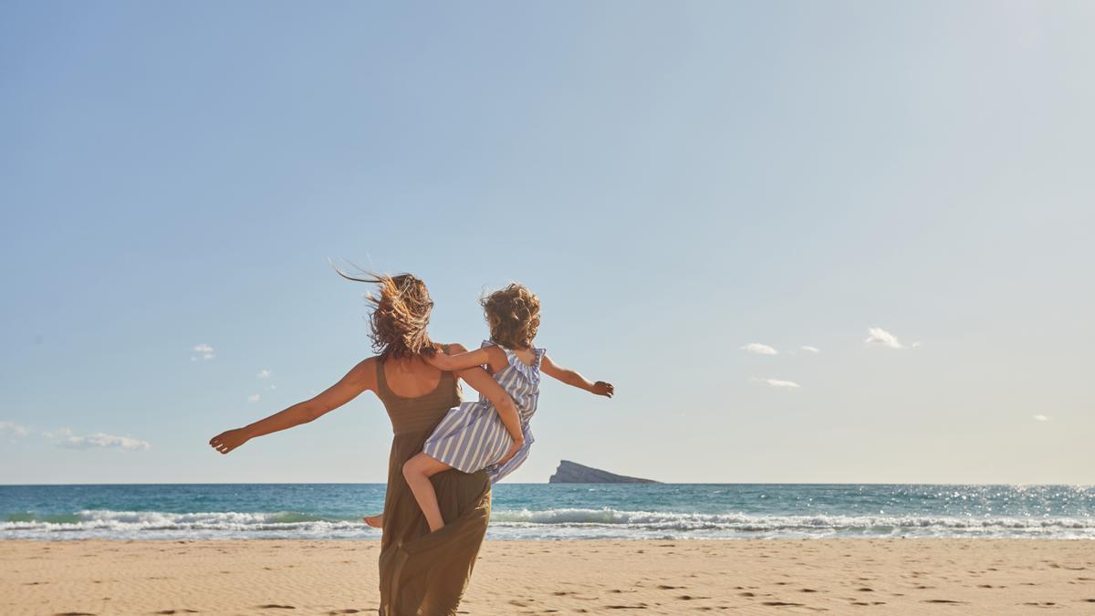 Benidorm es un destino ideal para pasar unas vacaciones en familia.