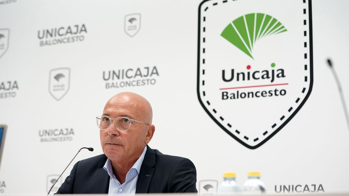 López Nieto en su primera rueda de prensa como presidente cajista