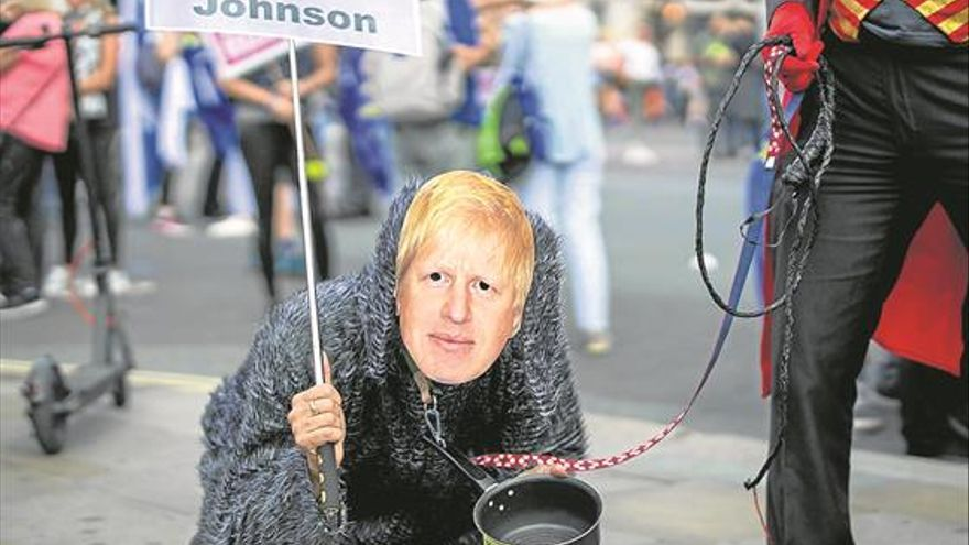 Un 'clown' en Downing Street