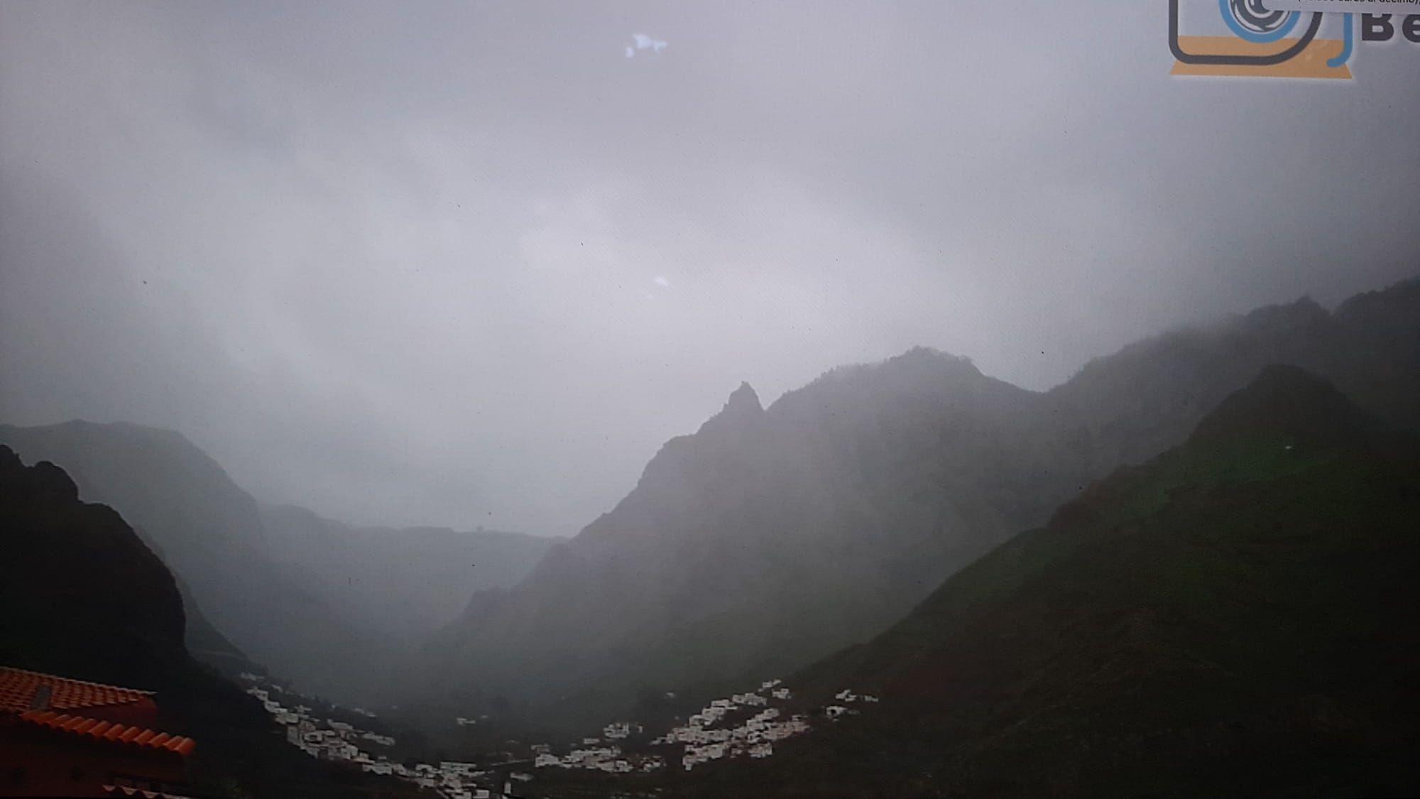 Temporal de lluvia y viento en Gran Canaria el Día de Reyes
