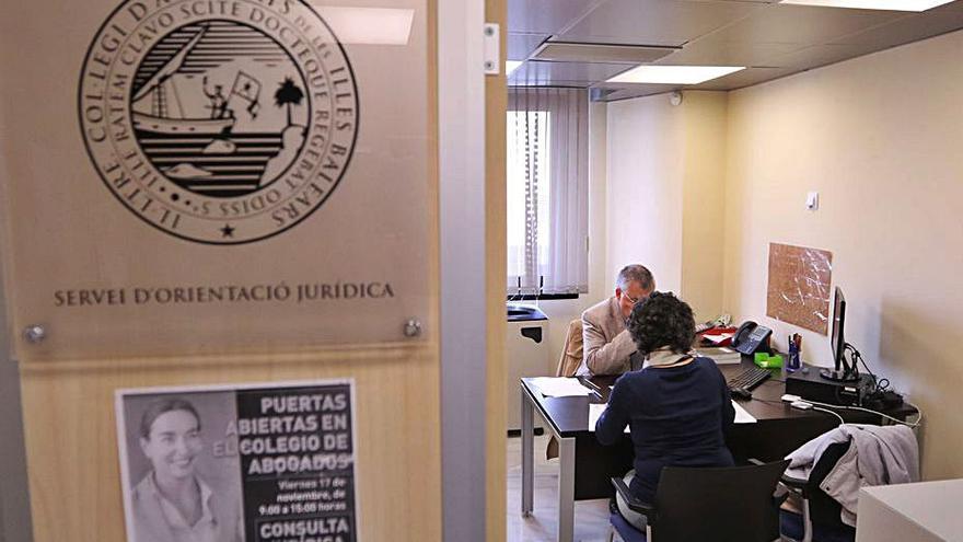 El turno de oficio de las Pitiusas gestiona 489 consultas al día