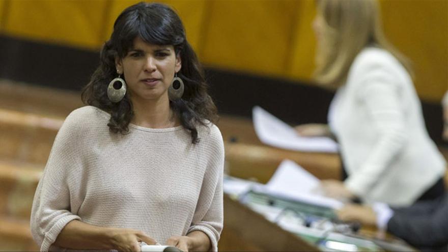 Teresa Rodríguez anuncia que presentará Adelante Andalucía a las elecciones generales