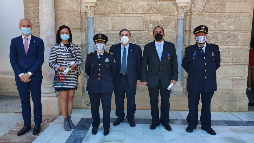 Medalla al Mérito de la Protección Civil para Massimo Colombi