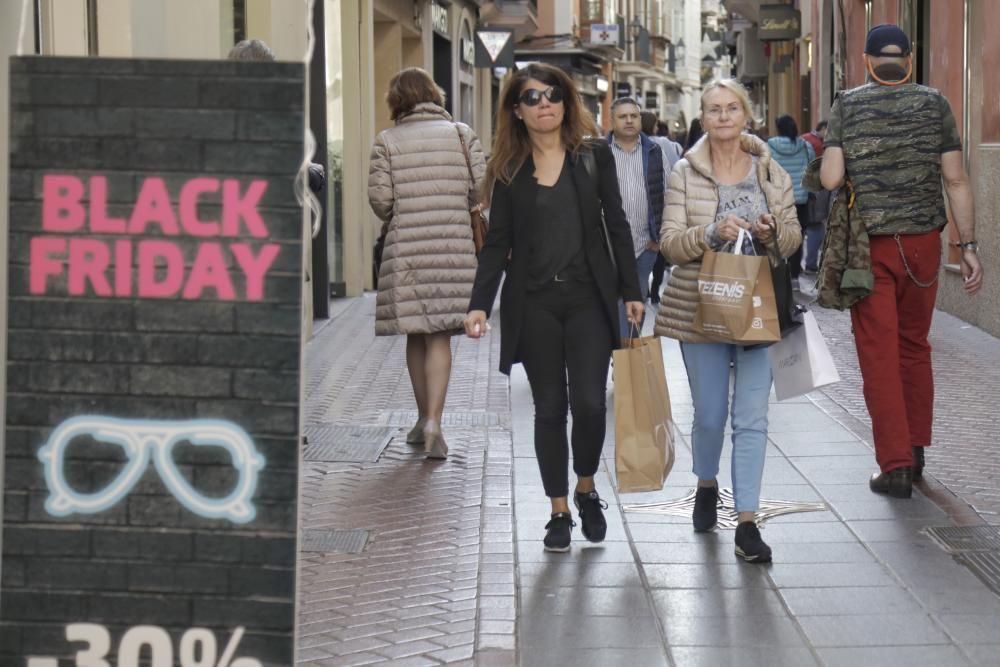 El Black Friday causa furor con sus ofertas en Palma