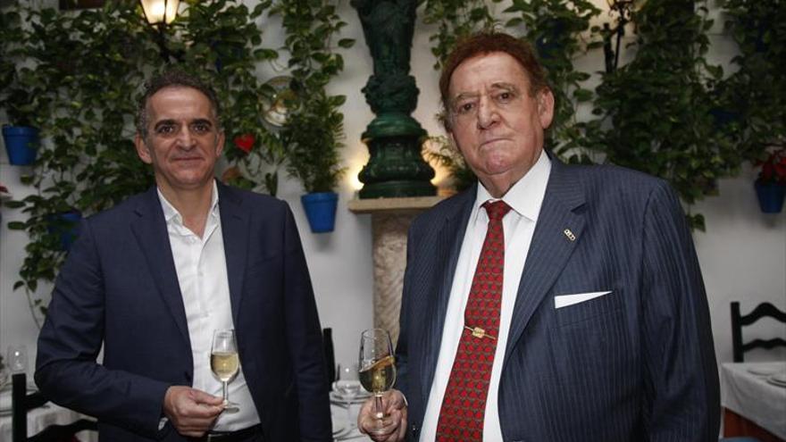 Rafael Moreno y Alberto Rosales, en la Academia de Gastronomía