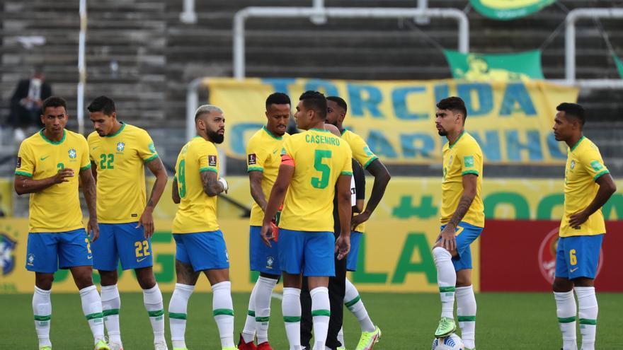 Escándalo: Argentina y Brasil suspenden a los cinco minutos su partido
