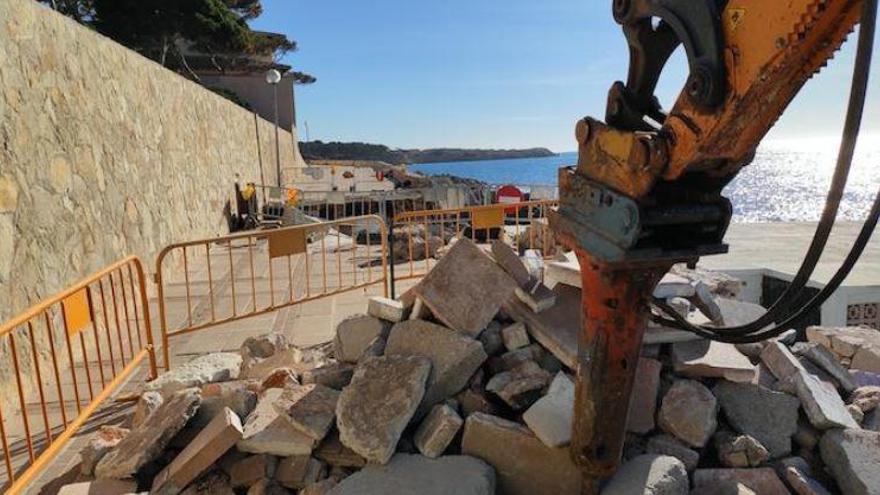 Sind Promenade-Arbeiten in Cala Ratjada illegal?
