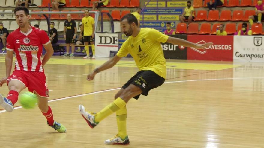 El Jimbee Cartagena cae en Jaén en el cuarto test de pretemporada