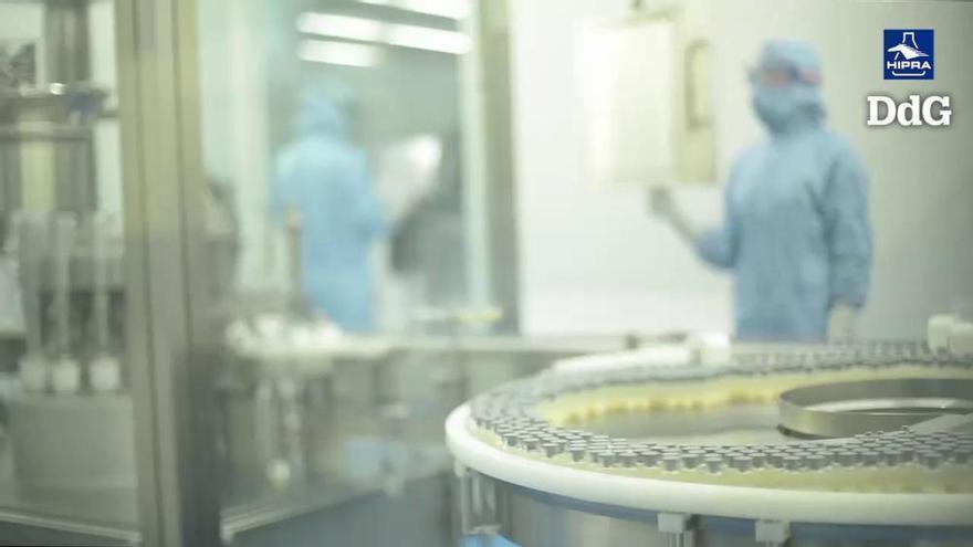 """La ministra de Ciència destaca que la vacuna d'Hipra presenta """"diverses millores"""" en relació amb les existents"""