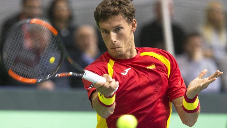 Pablo Carreño, en el equipo español para la Copa Davis