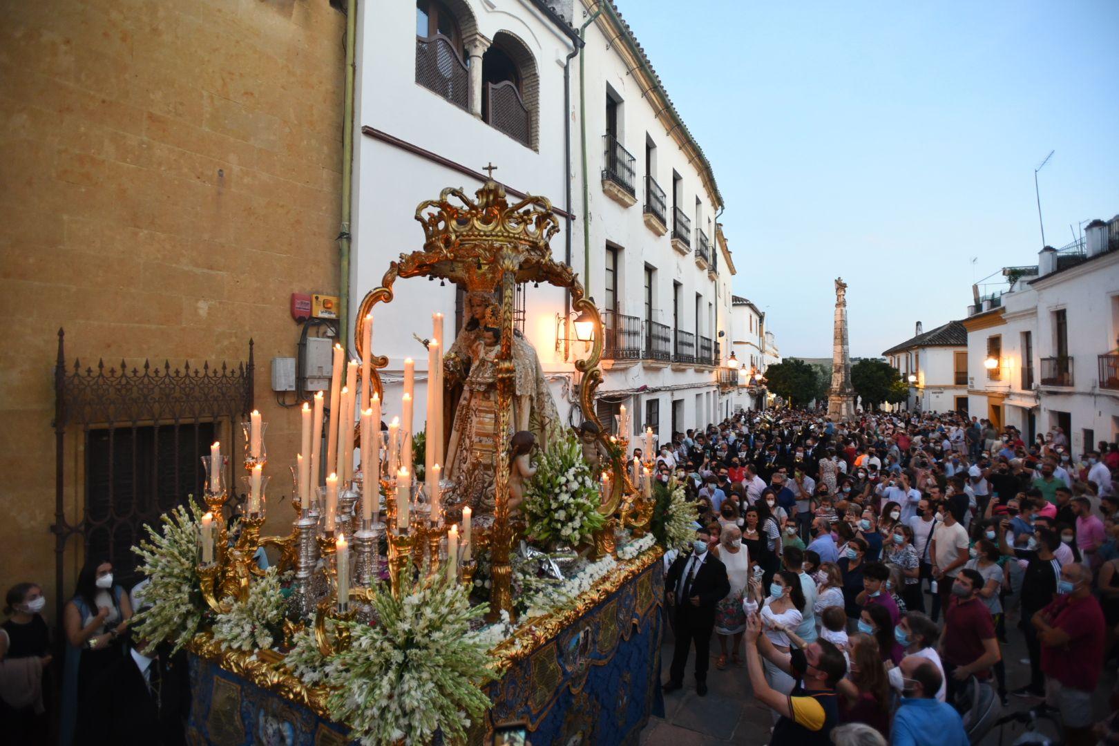 La Virgen del Socorro vuelve a las calles tras la pandemia