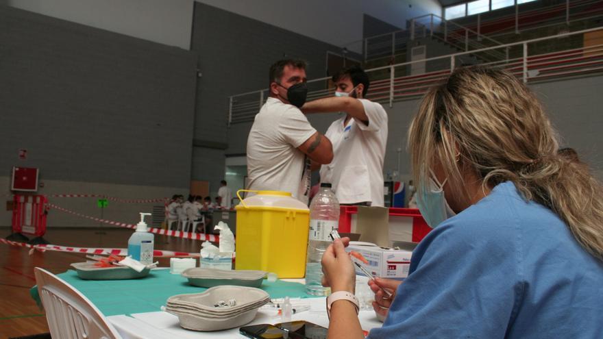 Casi 8.000 vacunas se pondrán en Lorca esta semana