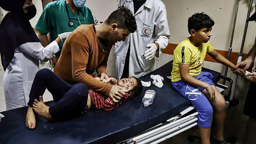 L'ofensiva israeliana causa la mort d'almenys 200 palestins en una setmana