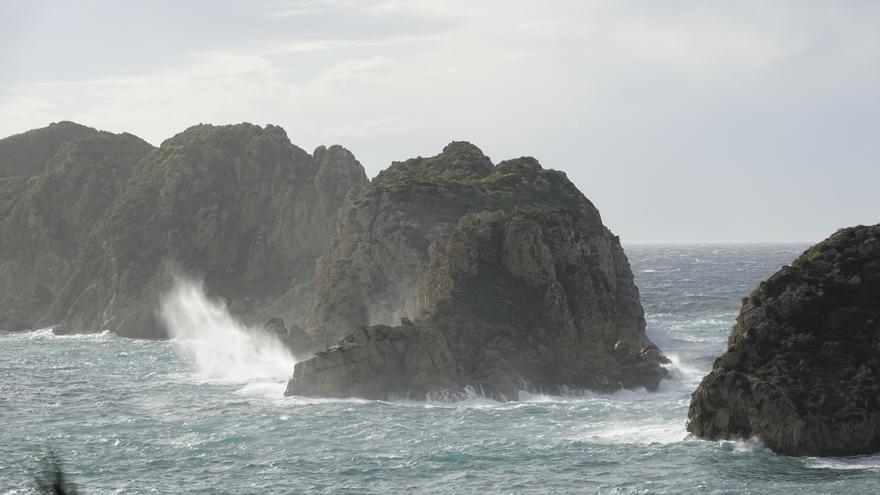 Temporal de viento en Mallorca: Rachas de 94 kilómetros por hora y acumulación de incidentes