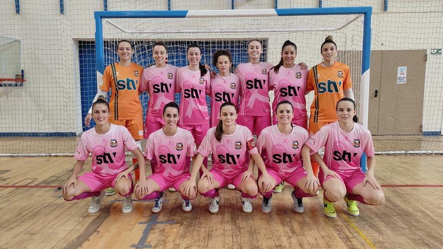 El STV Roldán remonta en Melilla para lograr su primera victoria (3-4)