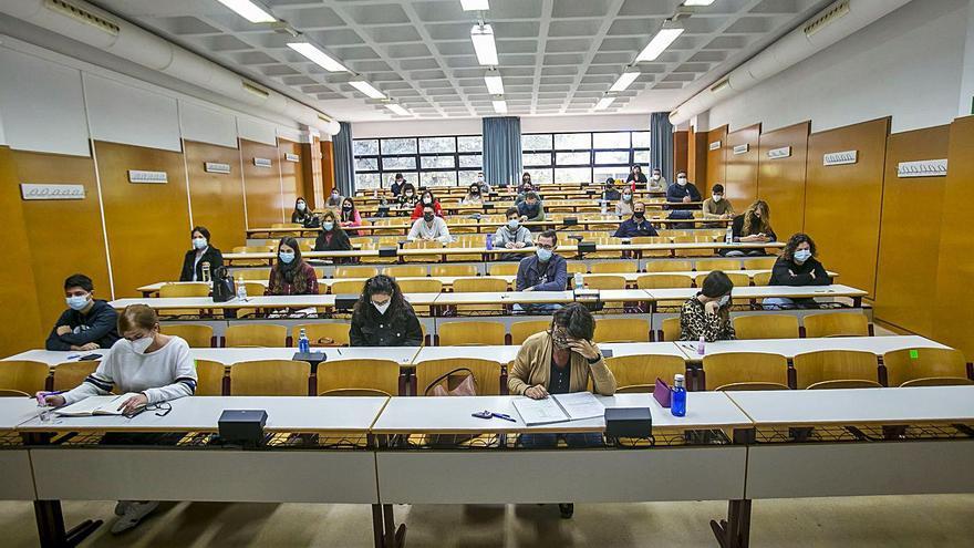 Las universidades aseguran un aforo inferior al que marca el Consell para hacer los exámenes