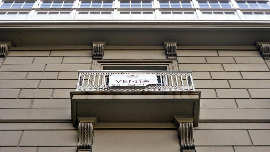 Los pisos en la ciudad de A Coruña suben un 8% y cuestan un 60% más que la media gallega
