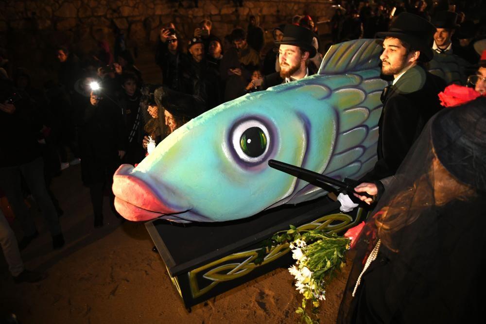 Carnaval A Coruña 2019 | Entierro de la sardina