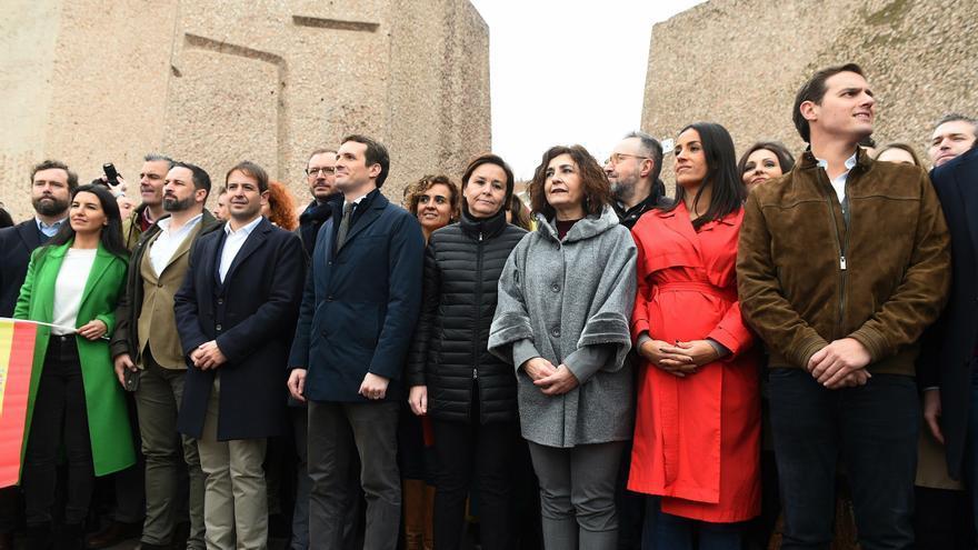 Vox, PP y Ciudadanos apoyarán la manifestación del 13 de junio contra los indultos