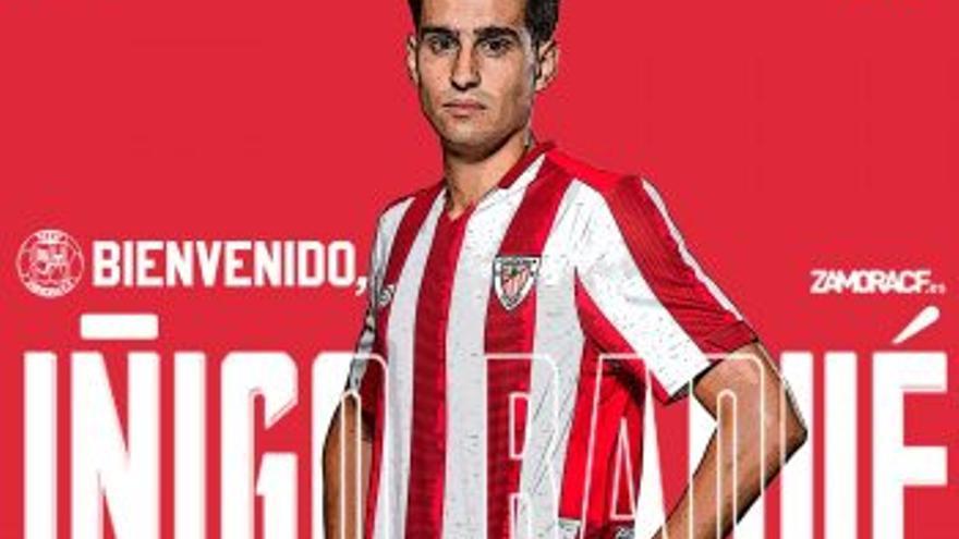 Iñigo Baqué, primer refuerzo del Zamora CF para la Primera RFEF