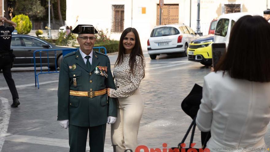 Celebración día de la Guardia Civil en Caravaca