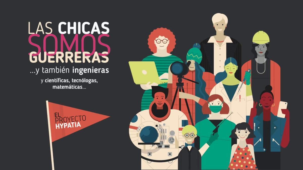 Exposición en Zamora 'Las chicas somos guerreras'.